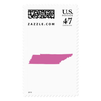 Tennessee State Outline Postage