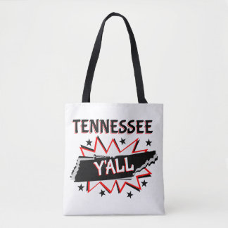 Tennessee State Pride Y'all Tote Bag