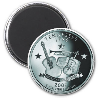 Tennessee state quarter magnets
