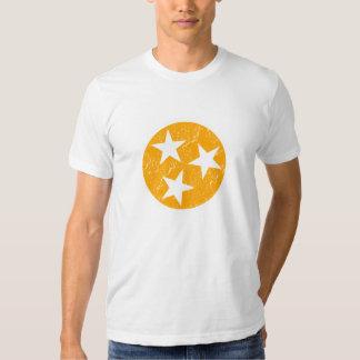 Tennessee State Rocky Top Grunge Big Orange Tee Shirt