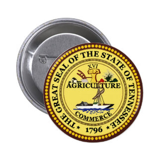 Tennessee State Seal Pinback Button