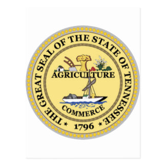 Tennessee State Seal Postcard