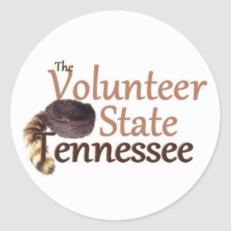 TENNESSEE CLASSIC ROUND STICKER