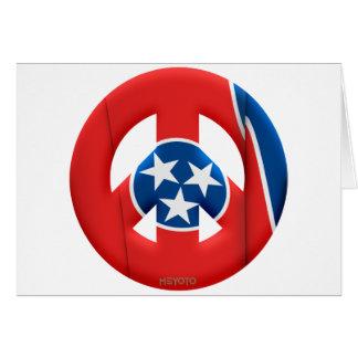 Tennessee Tarjeta De Felicitación
