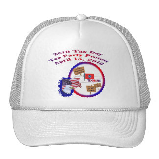 Tennessee Tax Day Tea Party Protest Trucker Hats