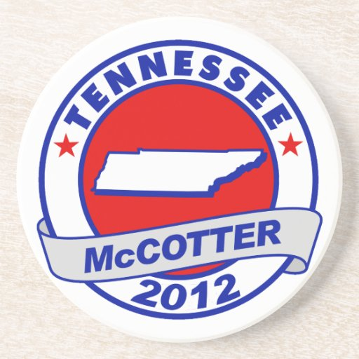 Tennessee Thad McCotter Coasters
