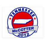 Tennessee Thad McCotter Postcards