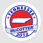 Tennessee Thad McCotter Sticker
