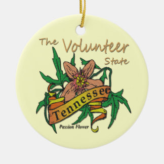 Tennessee The Volunteer State Ornament