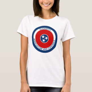 Tennessee The Volunteer State Personalized Flag T-Shirt