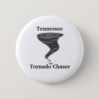 Tennessee Tornado Chaser - Button