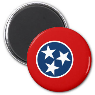Tennessee, United States flag Magnets