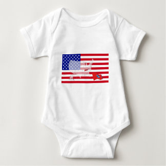 Tennessee, USA Baby Bodysuit