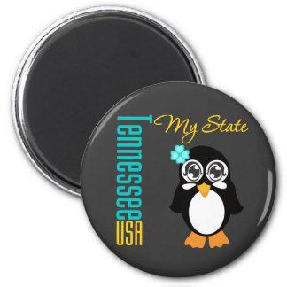 Tennessee USA Penguin Refrigerator Magnet