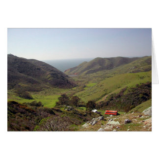 Tennessee Valley, Marin County, CA Card