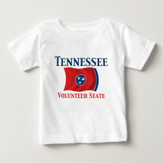 Tennessee - Volunteer State Baby T-Shirt