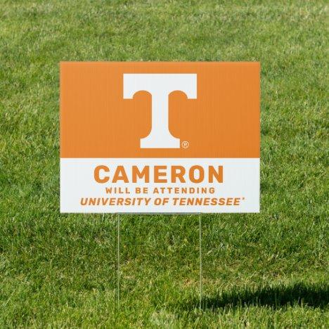 Tennessee Volunteers Graduate Sign