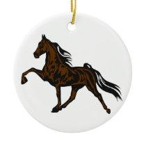 Tennessee Walker Ceramic Ornament