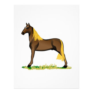 Tennessee Walker Letterhead