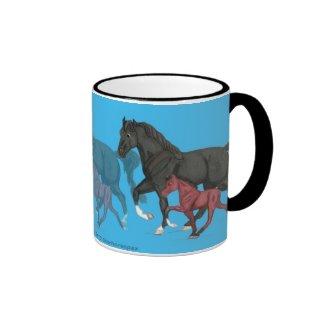 Tennessee Walker Mare & Foal Mug