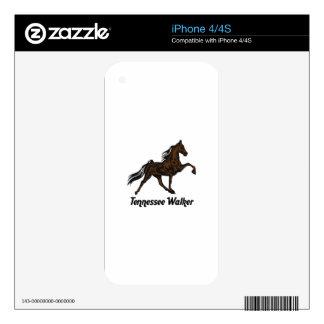 Tennessee Walker iPhone 4S Skins