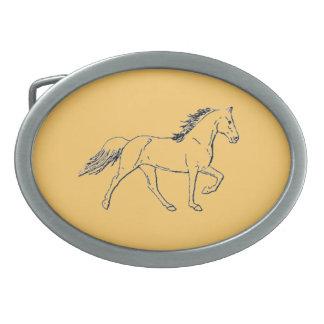 Tennessee Walking Horse Belt Buckle