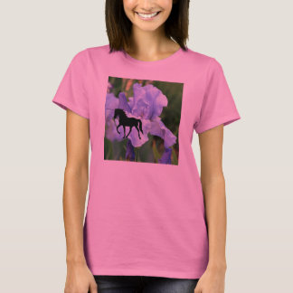 Tennessee Walking Horse Blue Iris TWH T-Shirt