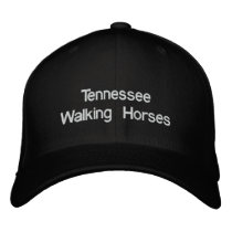 Tennessee Walking Horse Embroidered Baseball Hat