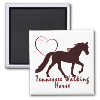 Tennessee Walking Horse Hearts Fridge Magnet