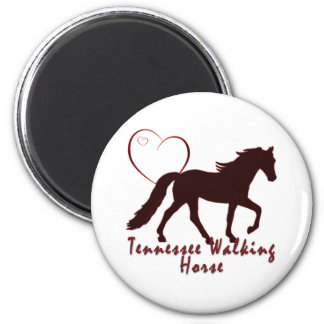 Tennessee Walking Horse Hearts Magnets