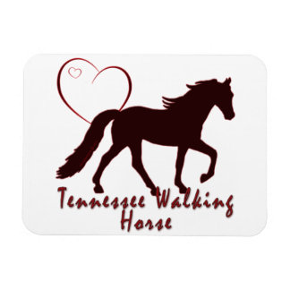 Tennessee Walking Horse Hearts Magnet