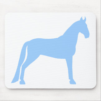 Tennessee Walking Horse (light blue) Mouse Pad