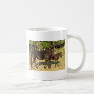 Tennessee Walking Horse Mare and Foal Coffee Mug