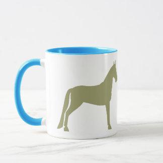 Tennessee Walking Horse (olive green) Mug