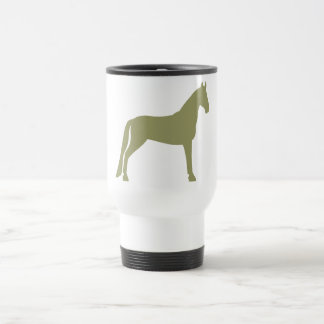 Tennessee Walking Horse (olive green) Travel Mug