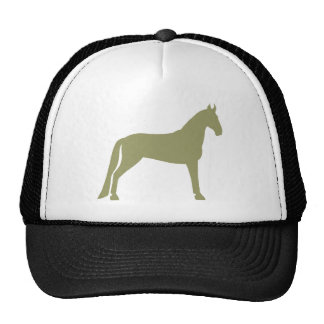 Tennessee Walking Horse (olive green) Trucker Hat