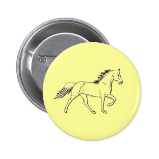 Tennessee Walking Horse Pinback Button