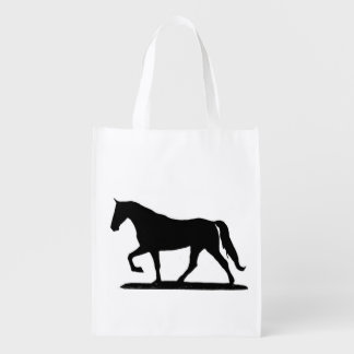 Tennessee walking horse reusable bag market totes