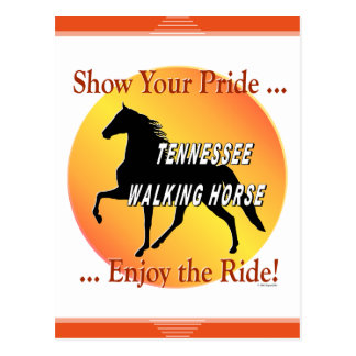 Tennessee Walking Horse Show Your Pride Postcard