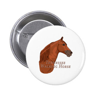 Tennessee Walking Horse Sorrel Chestnut Button