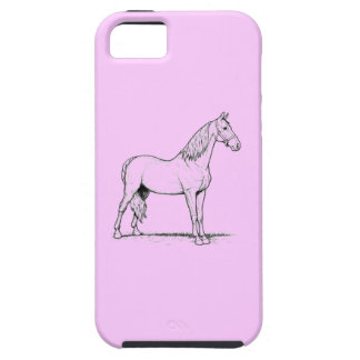 Tennessee Walking Horse - Standing iPhone SE/5/5s Case