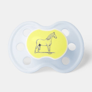 Tennessee Walking Horse - Standing Baby Pacifiers