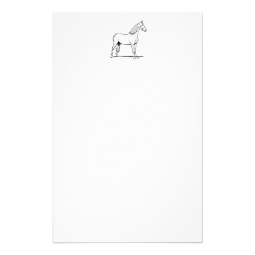 Tennessee Walking Horse - Standing Stationery