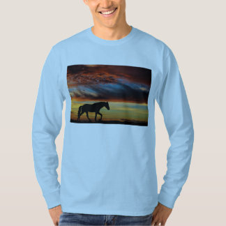 Tennessee Walking Horse Sunset Silhouette T-shirt