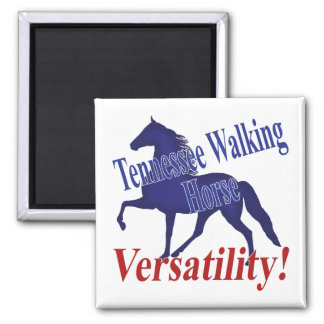 Tennessee Walking Horse Versatility Fridge Magnets