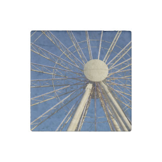 Tennessee Wheel Stone Magnet