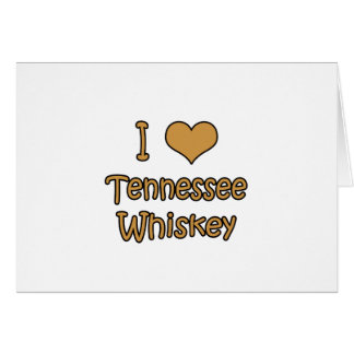 Tennessee Whiskey Card