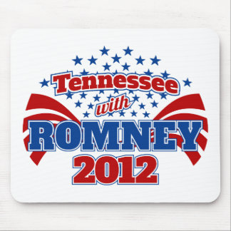 Tennessee with Romney 2012 Mouse Pad