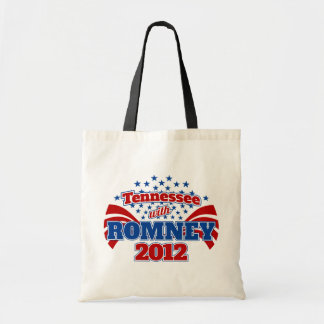 Tennessee with Romney 2012 Tote Bag