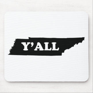 Tennessee Yall Mouse Pad